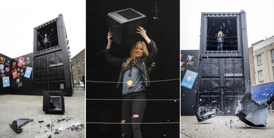 Rock Star Style TV Smashing At The Guitar Hero Live Launch Party