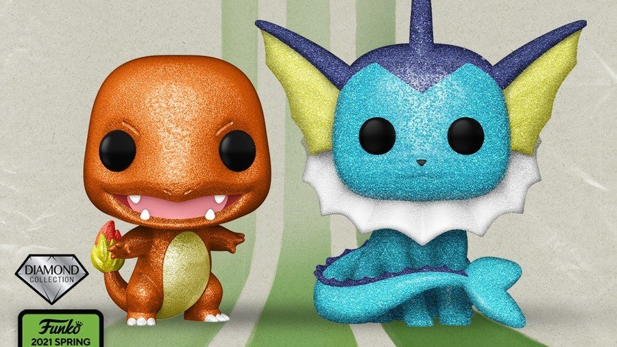 Funko Diamond Charmander Vaporeon