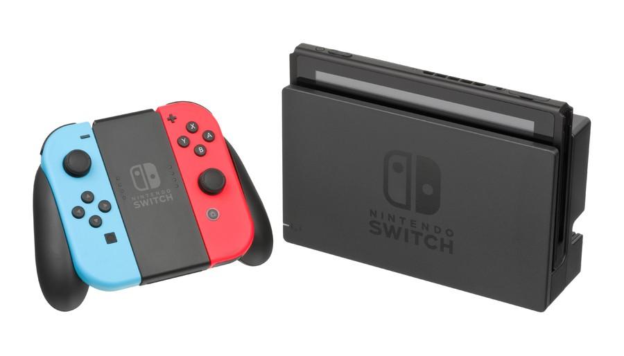 Nintendo Switch Dock and Joy-con Grip