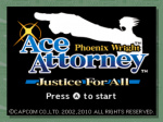 Phoenix Wright: Ace Attorney - Justice For All (WiiWare)
