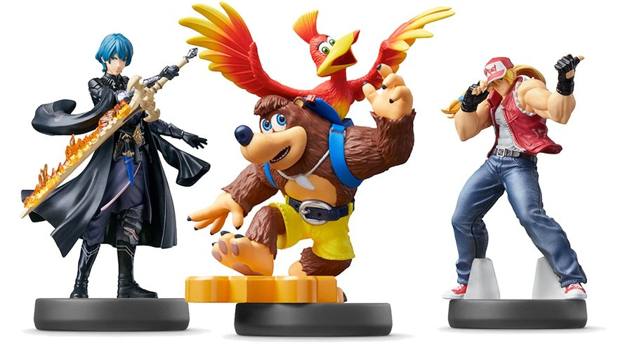 Where To Pre-Order Banjo & Kazooie, Terry Bogard And Byleth amiibo