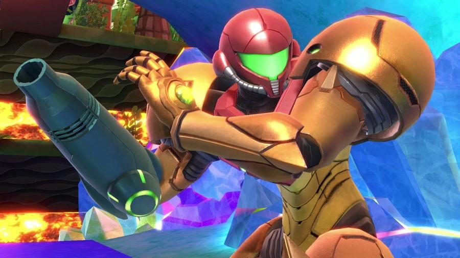 Zero Suit Samus as seen in Super Smash Bros. Ultimate (2018)