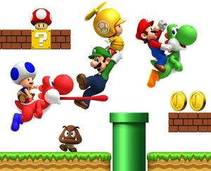 Mario, Mario, everywhere