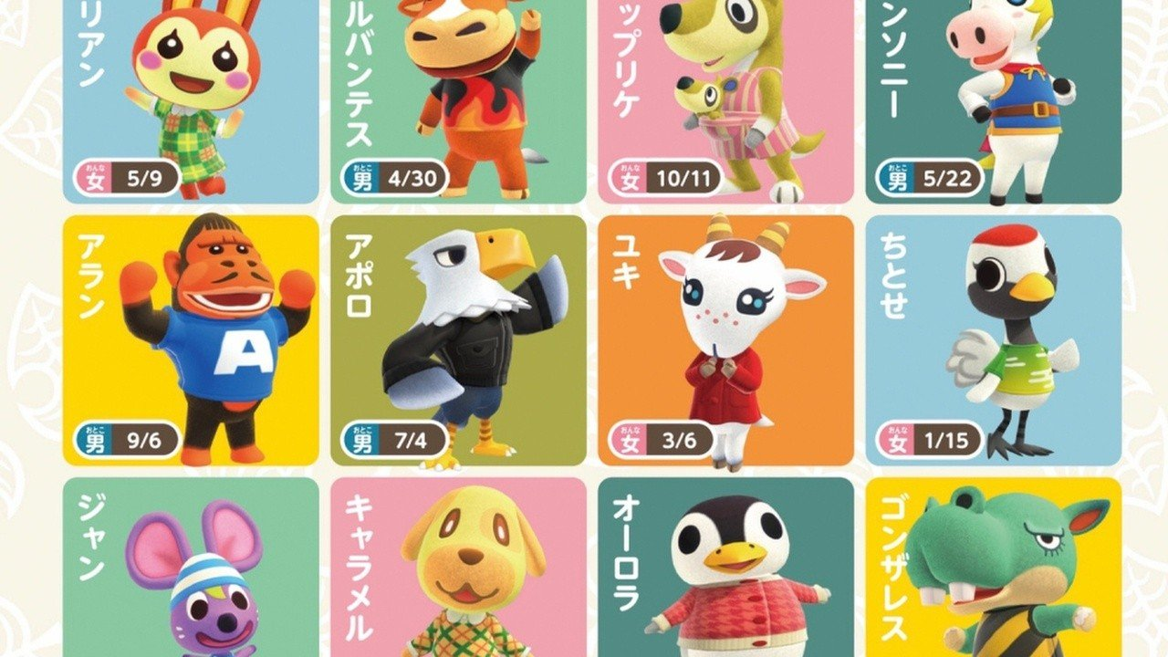 Animal Crossing: New Horizons Character Renders Appear ...