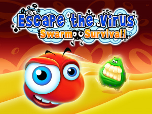 Escape the Virus: Swarm Survival
