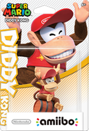 Diddy Kong amiibo Pack