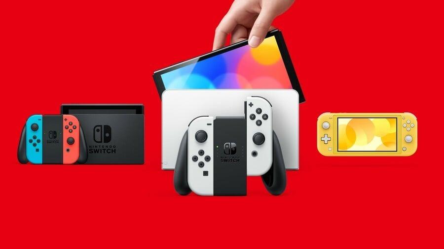 Nintendo Switch OLED Comparison