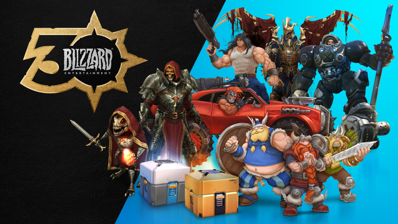 Get A Stack Of Extra Goodies In Blizzard's 30th Anniversary Celebration Collection