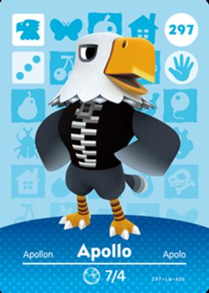 Apollo amiibo card
