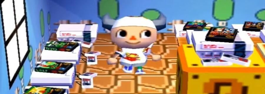 Super Mario Bros. via Animal Crossing (GameCube)