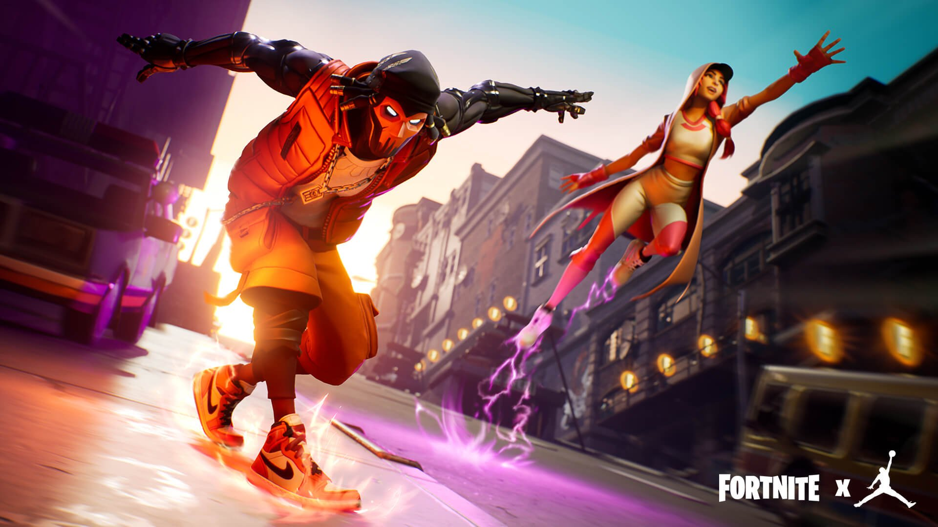 Fortnite Teams Up With Jordan For An Epic Downtown Drop Event