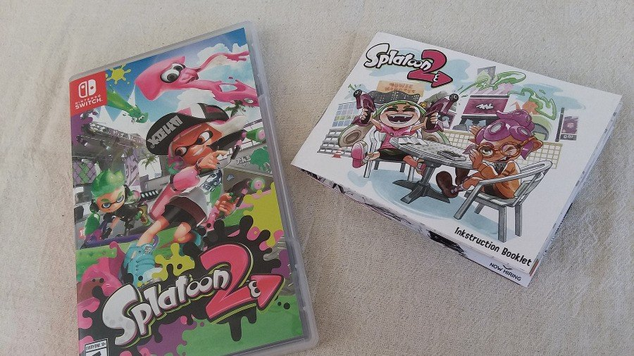 Splatoon Instruction Manual