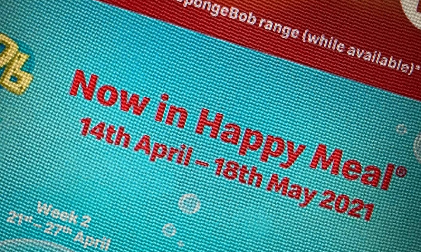 Pokemon Happy Meal