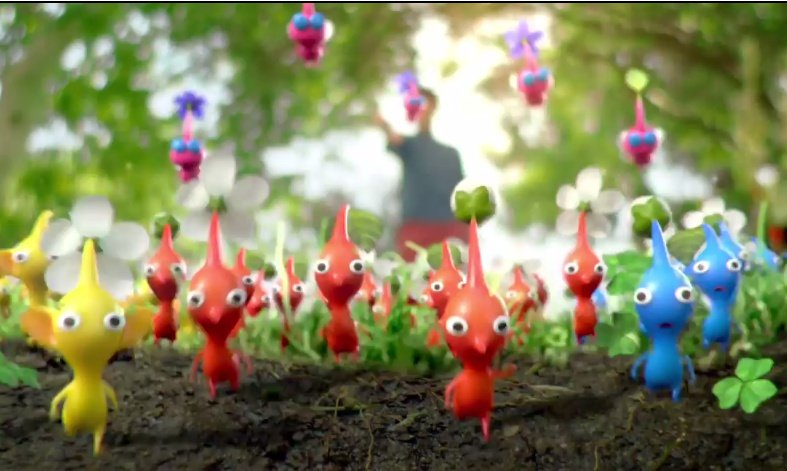 Video This New Pikmin 3 Trailer Goes For Realism Sort Of