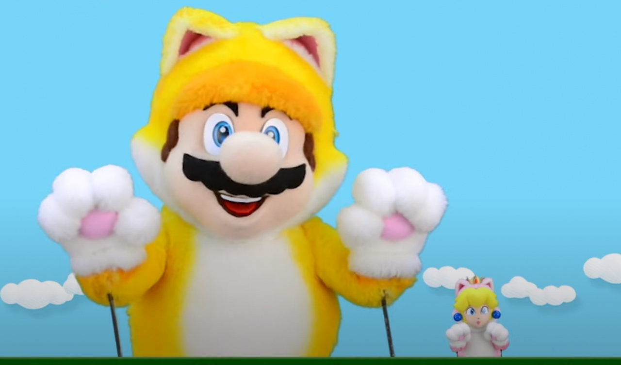 The Cat Mario Show Is Back, Showing Off Bowser's Fury (And BIG Cat Mario)