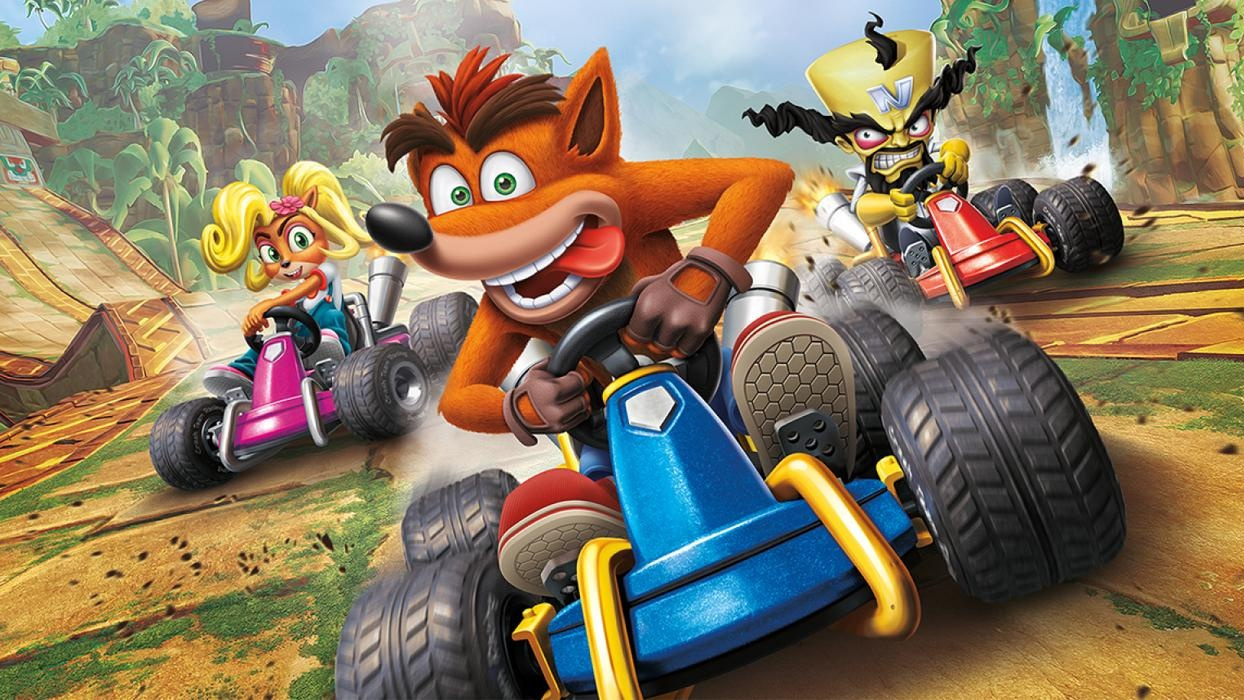 UK Charts: Crash Team Racing Speeds Straight To Number One, Destroys Team Sonic Racing's Debut