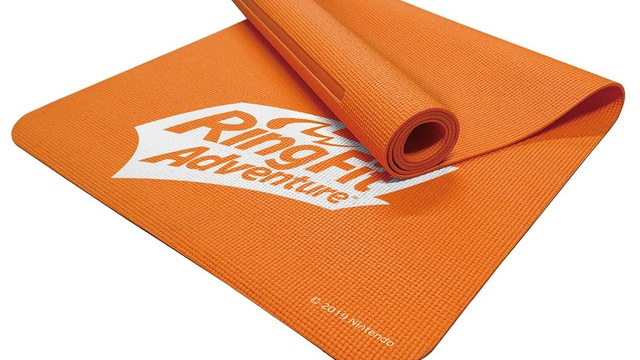 Hori Is Releasing An Exercise Mat For Ring Fit Adventure