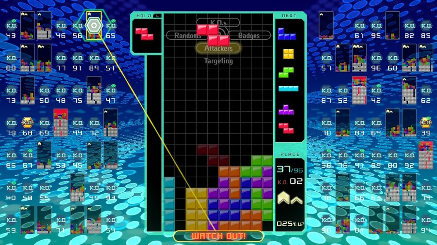 How To Make a Rutting Impact Battle in Tetris 99 – Manual