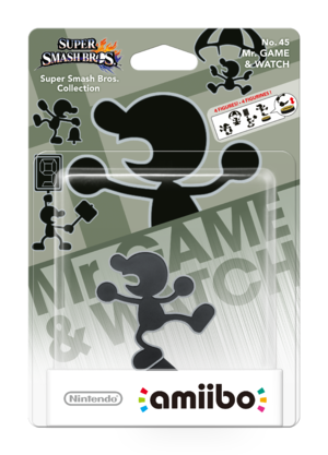 Mr. Game & Watch amiibo Pack