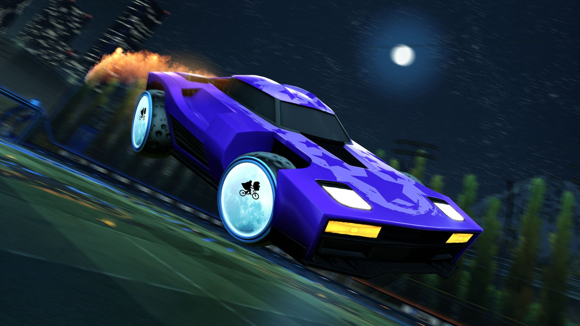 Rocket League Celebrates the 80's in Radical Summer