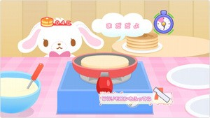 Make pancakes for the bunnies!