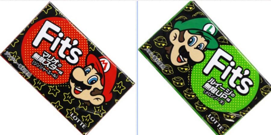 Mario and Luigi Gum