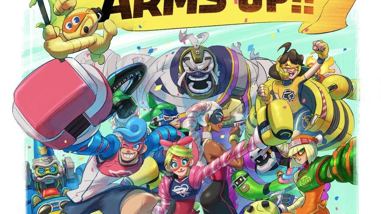 Las novelas gráficas de ARMS aún se están realizando, pero aún no tienen fecha de lanzamiento 35