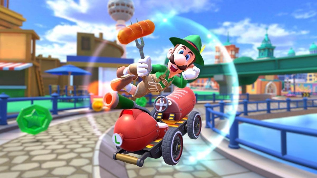 Lederhosen Luigi Is Now A Thing Thanks To Mario Kart Tour's Latest Update -  Nintendo Life