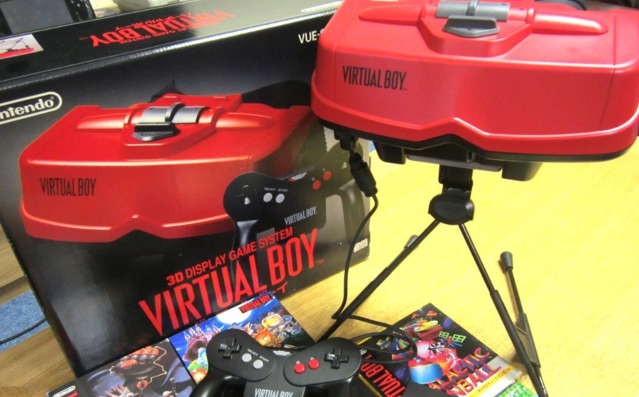 Nintendo's Virtual Boy wasn't really VR, but did much to dent public confidence in the tech during the '90s