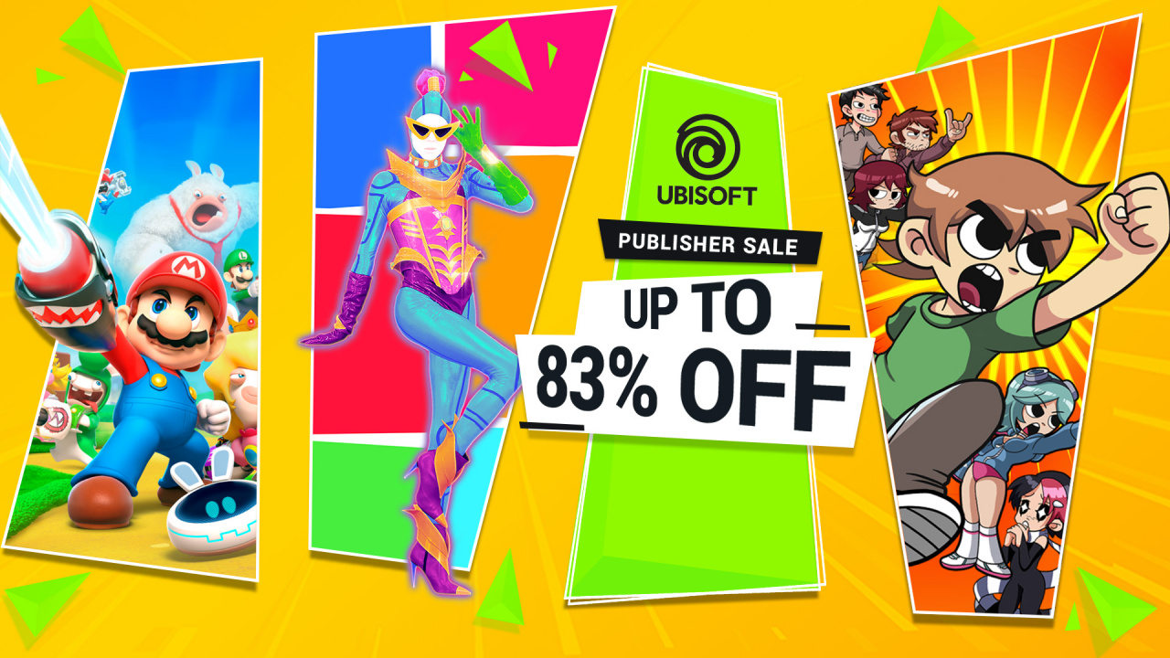 Ubisoft Switch Sale Takes Up To 83% Off Top Games (North America)