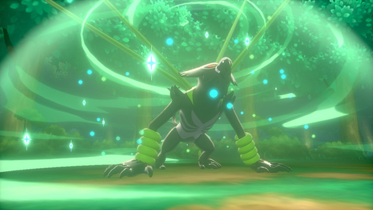 New Sword And Shield Mythical Pokémon Zarude Will Learn A Brand New Move At Level 90 - Nintendo Life