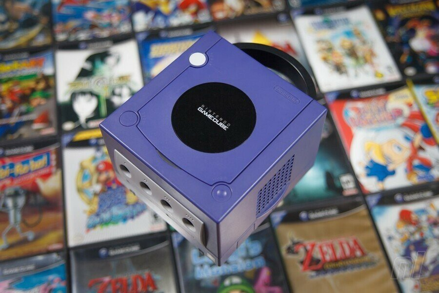 Gamecube System Front