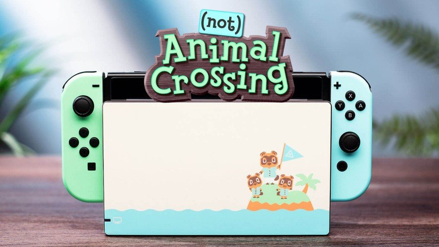 (Not) Animal Crossing Switch Skins