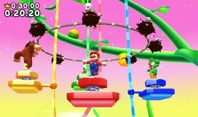 Mario and friends look for a positive spin on the results