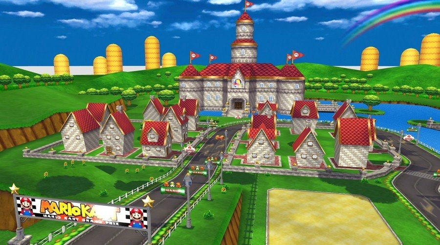 Mario Circuit from Mario Kart Wii