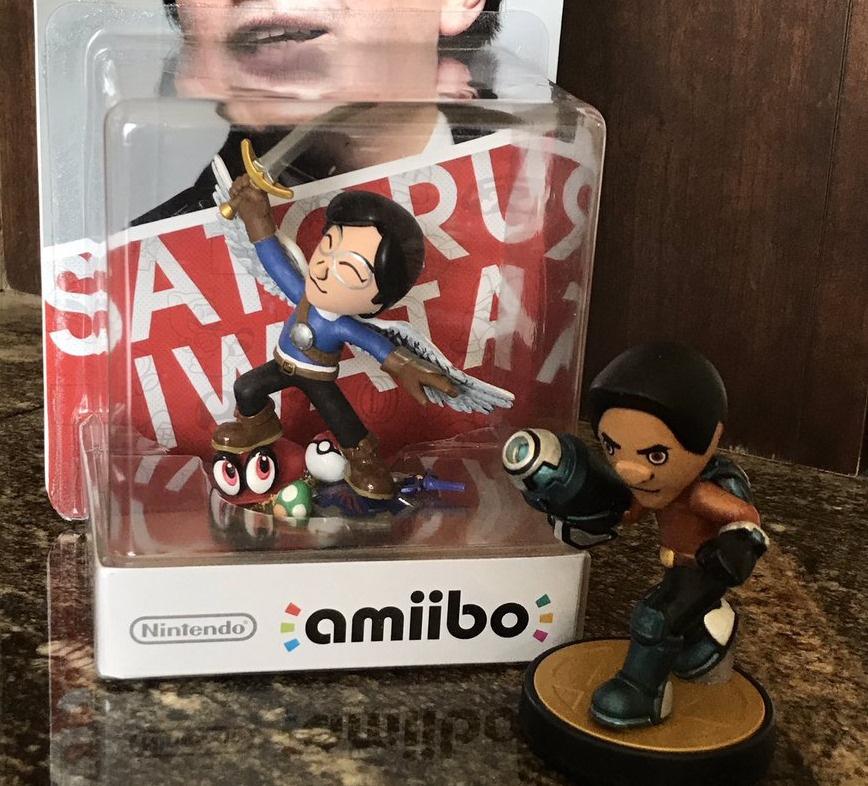 Random: Reggie's Most Touching Retirement Gift Was A Custom-Made Satoru Iwata amiibo