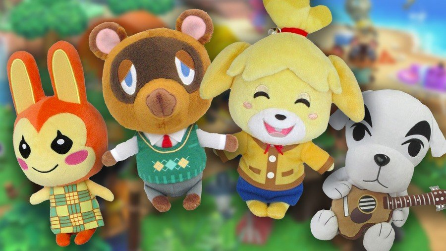 Merchoid Animal Crossing Plushes