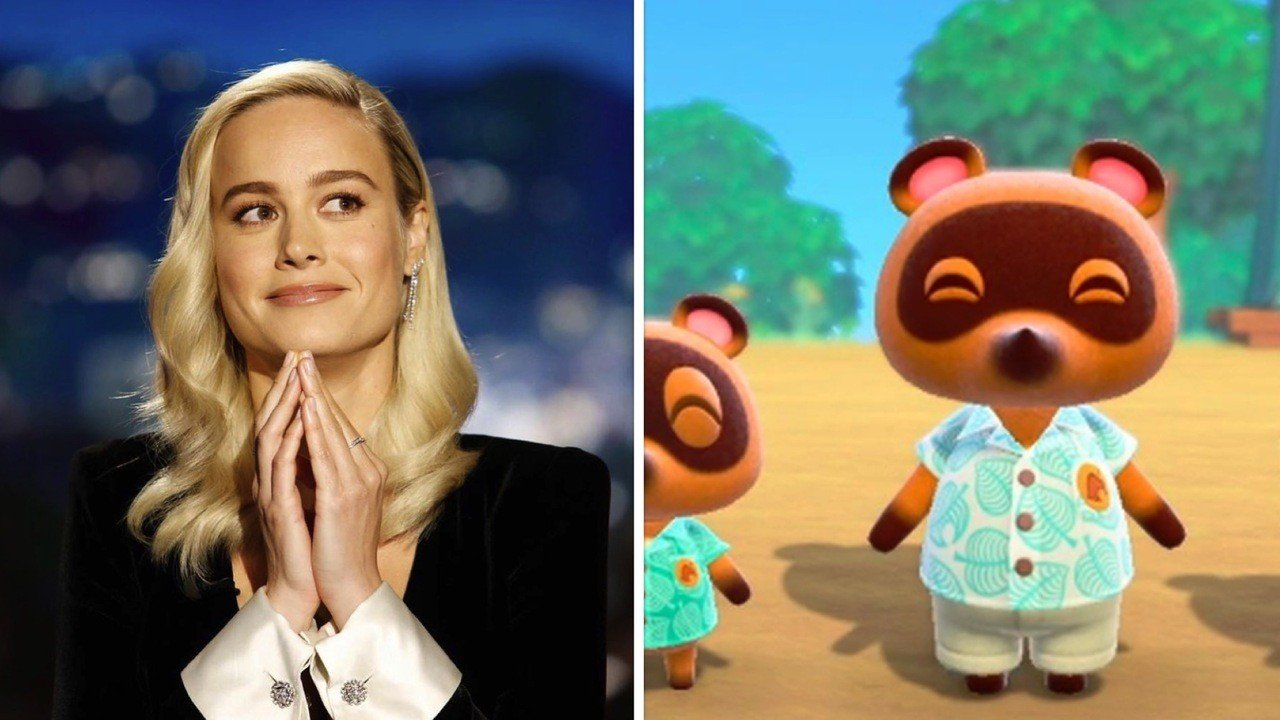 Random Brie Larson Seems As Excited For Animal Crossing New