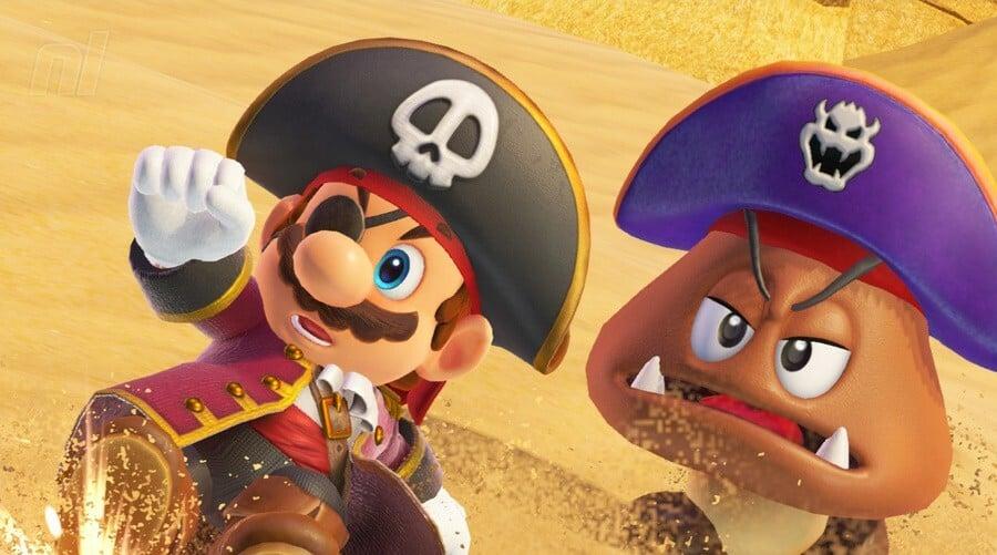 Mario Pirat Goomba