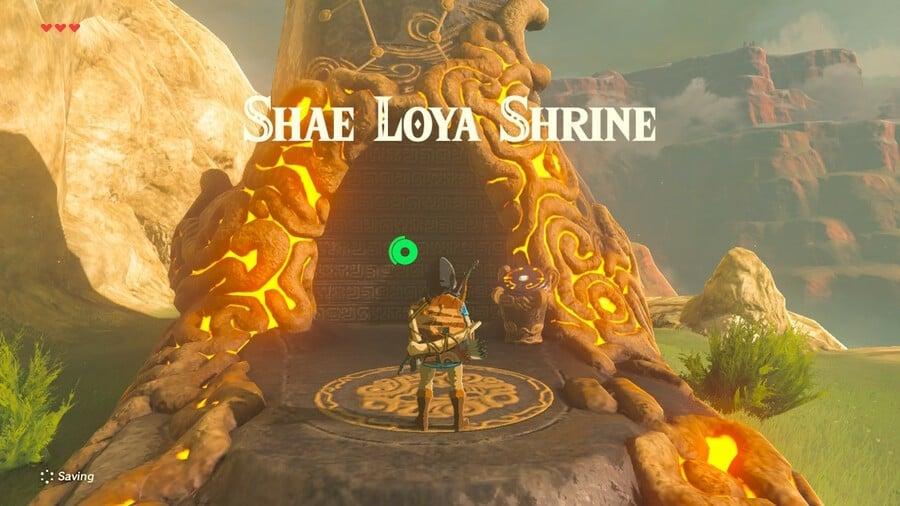 Shae Loya Shrine Entrance