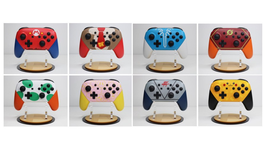 Smash Pro Controllers