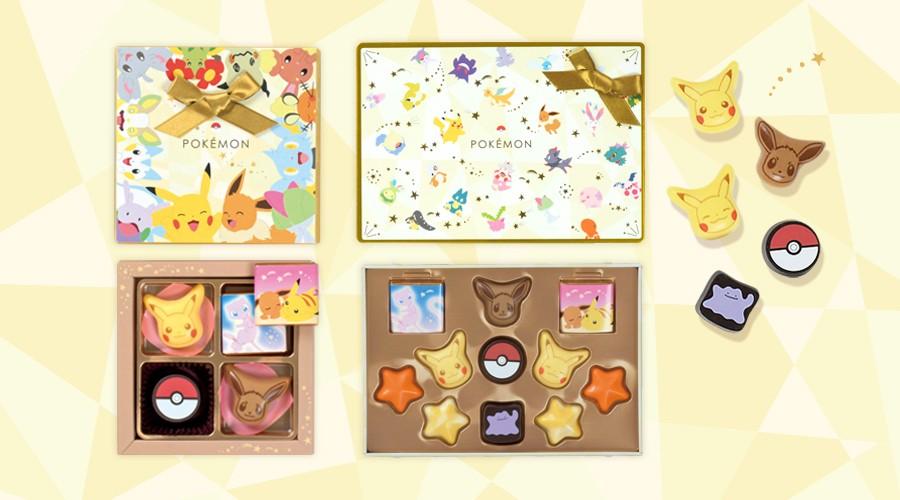 Pokémon Chocolates