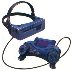 An early concept image for the Virtual Boy