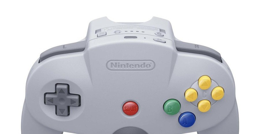 Switch's N64 Controller Hides Some Extra Buttons
