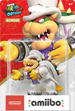 Bowser Wedding Outfit amiibo Pack