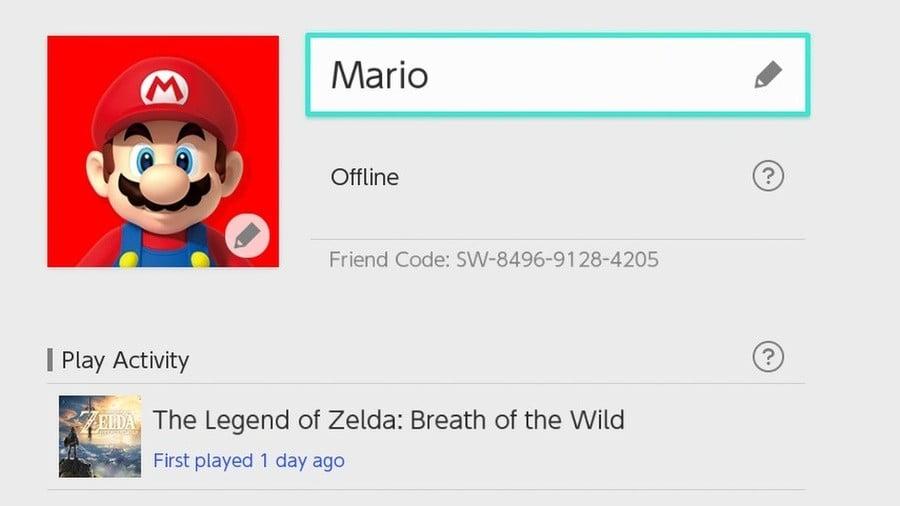 Anyone want Mario's Friend Code?