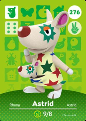 Astrid amiibo card