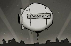 Tomorrow Corporation, ominously