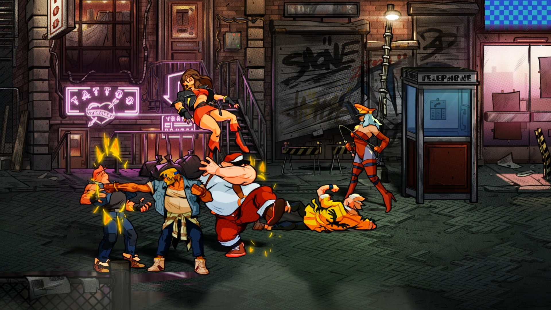 streets of rage z return of the hero