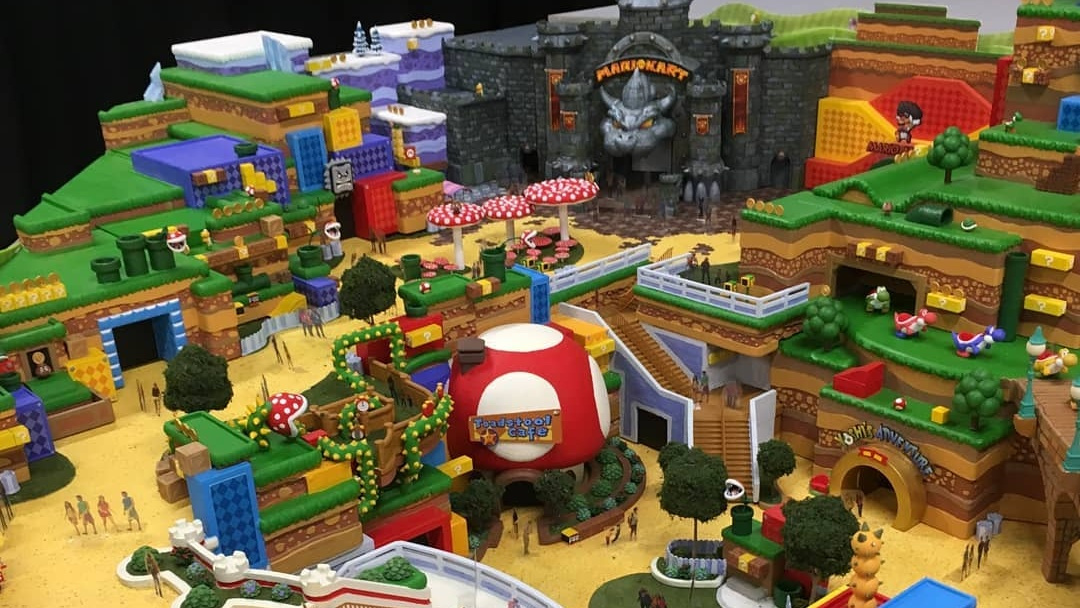 Rumour Super Nintendo World Rides And Layout Potentially Revealed In Leaked Images Nintendo Life
